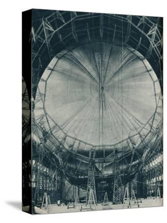 The internal structure of the airship R101, c1929 (c1937)-Unknown-Stretched Canvas Print