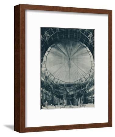 The internal structure of the airship R101, c1929 (c1937)-Unknown-Framed Photographic Print