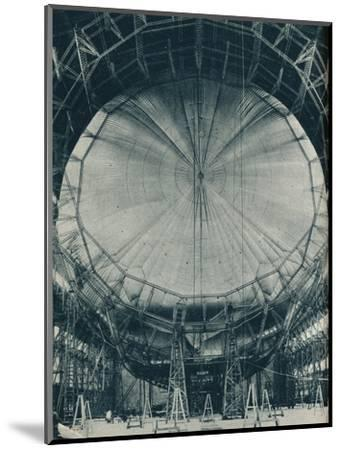 The internal structure of the airship R101, c1929 (c1937)-Unknown-Mounted Photographic Print
