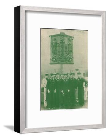 HMS 'New Zealand', c1918 (1919)-Unknown-Framed Photographic Print