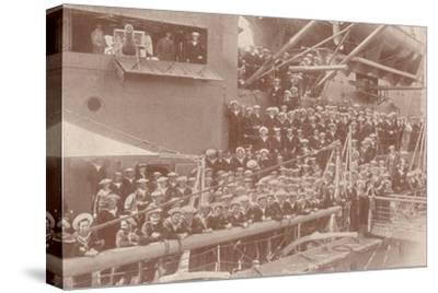 Some of the ship's company of HMAS 'Australia', c1917 (1919)-Unknown-Stretched Canvas Print