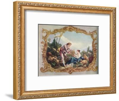 'The Cage', c1755-Edmund Wardle-Framed Giclee Print
