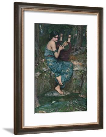 'The Charmer', 1911-John William Waterhouse-Framed Giclee Print