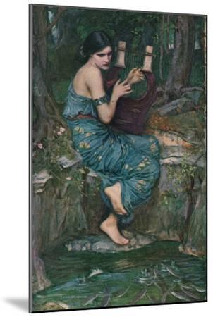 'The Charmer', 1911-John William Waterhouse-Mounted Giclee Print