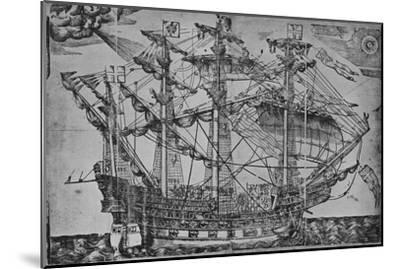 'The Ark Royal', 1588-Unknown-Mounted Giclee Print