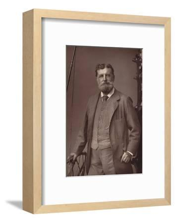 'Sir Christopher Teesdale', c1891-W&D Downey-Framed Photographic Print