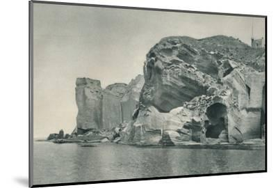 Entrance to a sulphur spring, Ischia, Italy, 1927-Eugen Poppel-Mounted Photographic Print