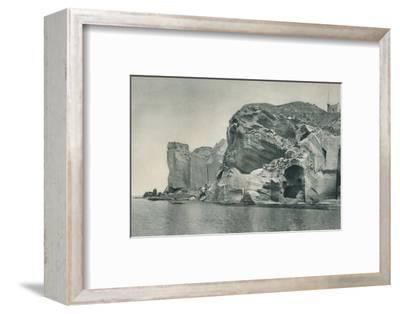 Entrance to a sulphur spring, Ischia, Italy, 1927-Eugen Poppel-Framed Photographic Print