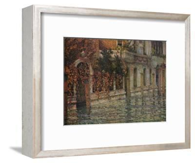 Le Palais Blanc, Automne, Venise', c1906, (1918)-Henri Eugene Le Sidaner-Framed Giclee Print