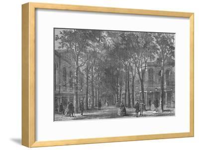Marylebone Gardens, Westminster, London, 1870 (1878)-Unknown-Framed Giclee Print
