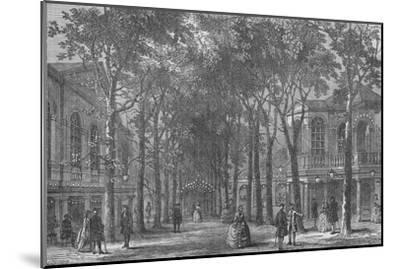 Marylebone Gardens, Westminster, London, 1870 (1878)-Unknown-Mounted Giclee Print