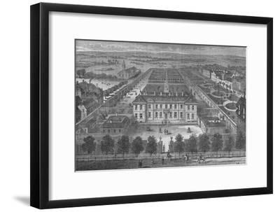 Burlington House, Westminster, London, in about 1700, c1875 (1878)-Unknown-Framed Giclee Print