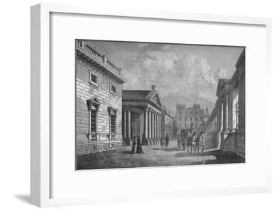 Front of Carlton House, Westminster, London, c1820 (1878)-Unknown-Framed Giclee Print