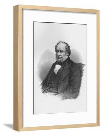 Sir Charles Barry, British architect, c1840 (1878)-Unknown-Framed Giclee Print