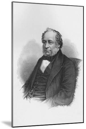 Sir Charles Barry, British architect, c1840 (1878)-Unknown-Mounted Giclee Print