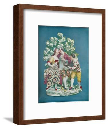 'Scene from the Italian Comedy', c1770-Unknown-Framed Giclee Print