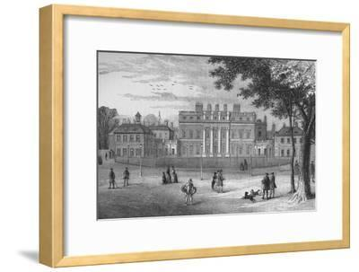 Buckingham House, Westminster, London, in 1775, c1875 (1878)-Unknown-Framed Giclee Print