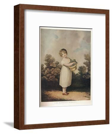 'The Father's Darling', c1890-Unknown-Framed Giclee Print