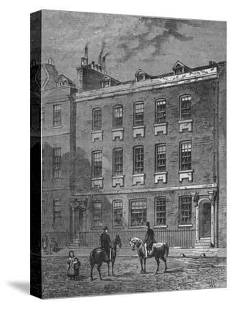 Colonel Blood's House, Westminster, London, c1870 (1878)-Unknown-Stretched Canvas Print