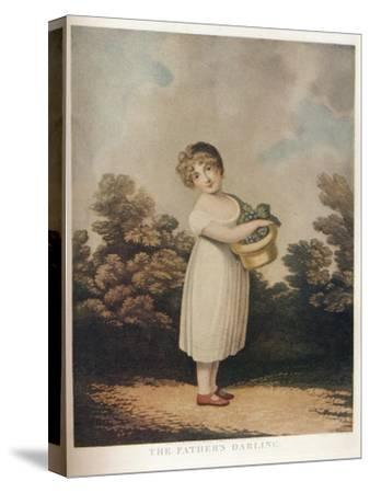 'The Father's Darling', c1890-Unknown-Stretched Canvas Print