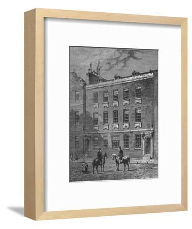 Colonel Blood's House, Westminster, London, c1870 (1878)-Unknown-Framed Giclee Print