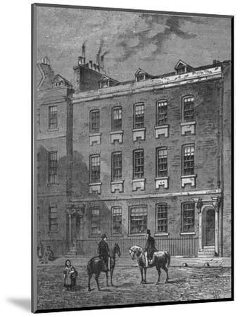 Colonel Blood's House, Westminster, London, c1870 (1878)-Unknown-Mounted Giclee Print