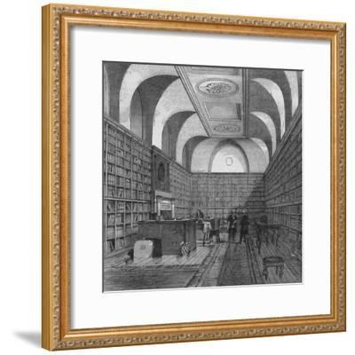 The King's Library, Buckingham House, Westminster, London, 1775 (1878)-Unknown-Framed Giclee Print