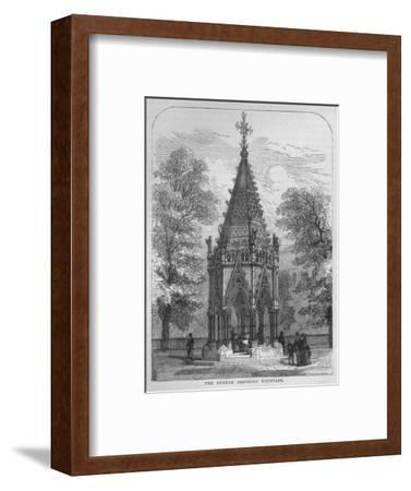 The Buxton Drinking Fountain, Westminster, London, c1870 (1878)-Unknown-Framed Giclee Print