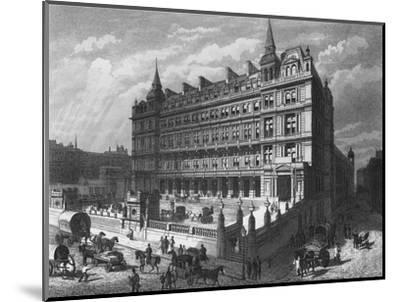 Cannon Street Railway Station, City of London, c1870 (1878)-Unknown-Mounted Giclee Print