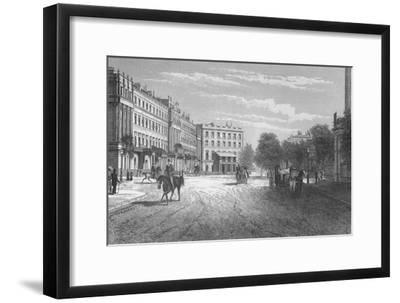 Belgrave Square, Westminster, London, c1850 (1878)-Unknown-Framed Giclee Print