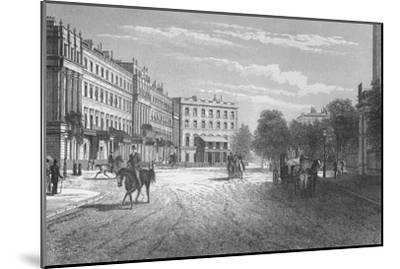 Belgrave Square, Westminster, London, c1850 (1878)-Unknown-Mounted Giclee Print