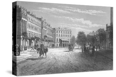 Belgrave Square, Westminster, London, c1850 (1878)-Unknown-Stretched Canvas Print
