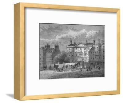 Cambridge House, Westminster, London, c1854 (1878)-Unknown-Framed Giclee Print