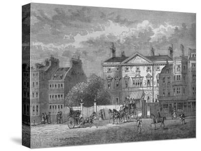 Cambridge House, Westminster, London, c1854 (1878)-Unknown-Stretched Canvas Print