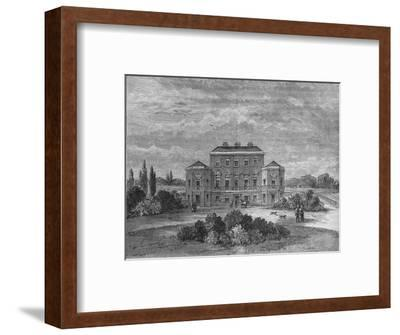 Foley House, Marylebone, Westminster, London, c1800 (1878)-Unknown-Framed Giclee Print