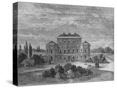 Foley House, Marylebone, Westminster, London, c1800 (1878)-Unknown-Stretched Canvas Print