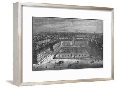 Red Lion Square, London, in 1800, 1878-Unknown-Framed Giclee Print