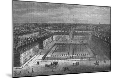 Red Lion Square, London, in 1800, 1878-Unknown-Mounted Giclee Print