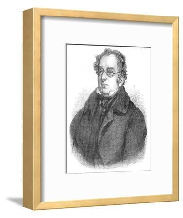Isaac D'Israeli, British writer and scholar, c1840 (1878)-Unknown-Framed Giclee Print