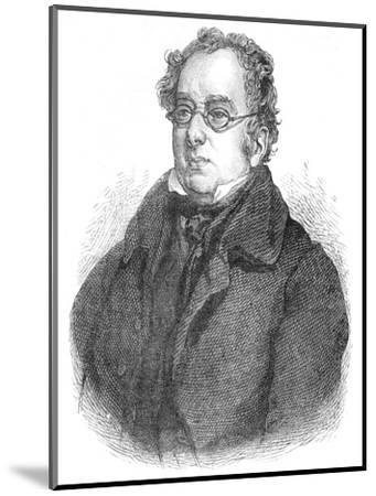 Isaac D'Israeli, British writer and scholar, c1840 (1878)-Unknown-Mounted Giclee Print