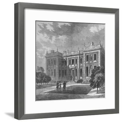 Marlborough House, Westminster, London, c1710 (1878)-Unknown-Framed Giclee Print