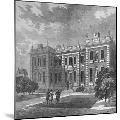 Marlborough House, Westminster, London, c1710 (1878)-Unknown-Mounted Giclee Print