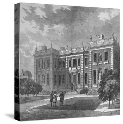 Marlborough House, Westminster, London, c1710 (1878)-Unknown-Stretched Canvas Print