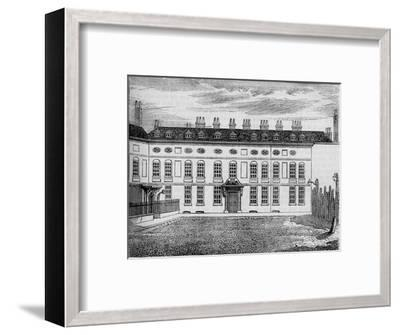 Cleveland House, Westminster, London, c1799 (1878)-Unknown-Framed Giclee Print