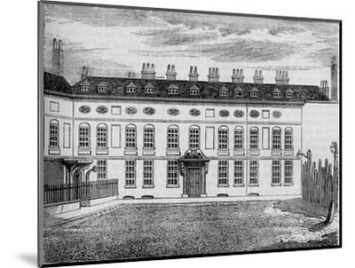 Cleveland House, Westminster, London, c1799 (1878)-Unknown-Mounted Giclee Print