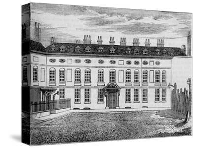 Cleveland House, Westminster, London, c1799 (1878)-Unknown-Stretched Canvas Print