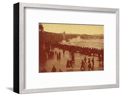 'I.O.M. Douglas, 'Storm', c1913-Unknown-Framed Photographic Print