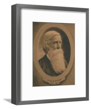 John Gibson Paton (1824-1907), Scottish born Protestant missionary, c1910s-Unknown-Framed Giclee Print