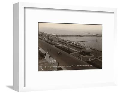 'View from Beaumont Hall Hotel, Marine Parade, Clacton-on-Sea', c1925-Unknown-Framed Photographic Print