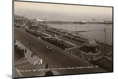 'View from Beaumont Hall Hotel, Marine Parade, Clacton-on-Sea', c1925-Unknown-Mounted Photographic Print